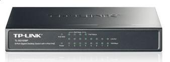 TP-Link TL-SG1008P 8-Port Gigabit Desktop Unmanaged Switch with 4-Port PoE 53W IEEE 802.3af, Fanless