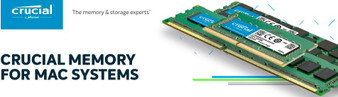 Crucial 4GB (1x4GB) DDR3 SODIMM 1600MHz for MAC 1.35V Single Stick Desktop for Apple Macbook Memory RAM