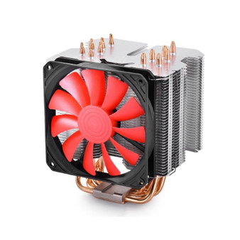 Deepcool Gamerstorm Lucifer K2 CPU Air Cooler Slim PWM Fan Copper Base