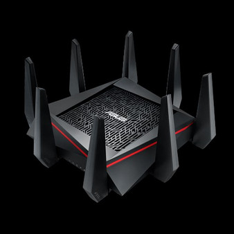 ASUS RT-AC5300 MU-MIMO Gigabit Wireless Gaming Router, Tri-Band & Quad