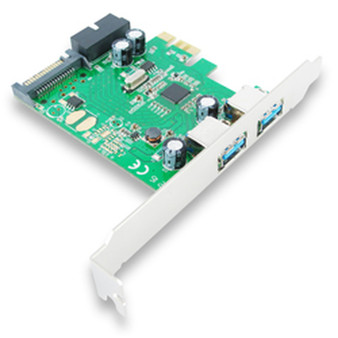 EU306C SKYMASTER PCI-E USB3.0 4 PORT SATA Power and Low Profile