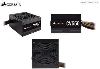 Corsair 550W CV Series CV550, 80 PLUS Bronze Certified Power Supply