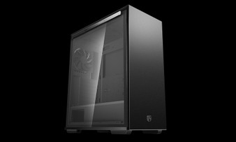 Deepcool MACUBE 310P BK Tempered Glass Case Black USB3.0*2, 7+2 SLOTS,