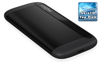 Crucial X8 1TB External Portable SSD ~1050MB/s USB3.2 Gen2 USB-C Slim