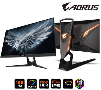 Gigabyte AORUS FI27Q-P 27' Tactical Gaming Monitor HDR 165Hz 1ms FreeS