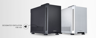 Lian Li PC-TU150 Mini ITX Aluminum/Solid Side Panel Case, No PSU