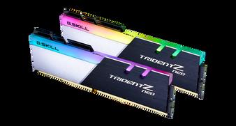 DUAL CHANNEL: 32GB (2x16GB) DDR4-3200MHz CL16-18-18-38 1.35V RGB