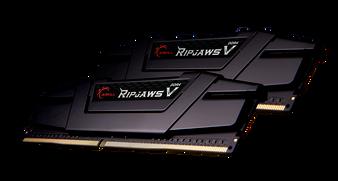 DUAL CHANNEL: 64GB (2x32GB) DDR4-3200MHz CL16-18-18-38 1.35V [Ripjaws