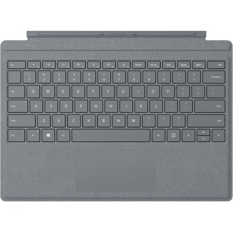 Microsoft Surface Pro Signature Type Cover  -  Light Charcoal/Platinum