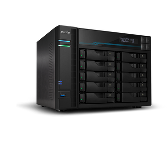Asustor BA-AS6510T Lockerstor 10 10 Bay Dual Intel 10GbE, M.2 SSD Cach