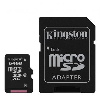 MICRO SD: 64GB microSDXC Class 10 UHS-I 45R Flash Card Far East Retail