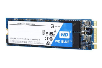 SSD M.2: 250GB BLUE, 3D NAND SATA Mode 2280, Sequential up to Read: