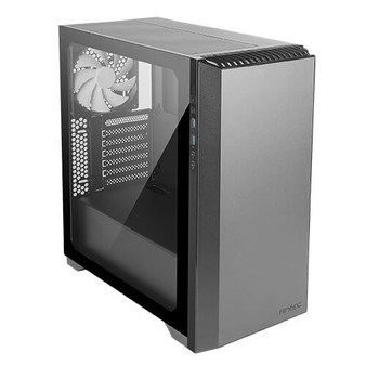 Mid-Tower Case: 4x 140mm White Fan. Extreme Cooling Configurations