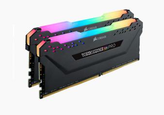 Dual Channel: 32GB (2 x 16GB) DDR4 DRAM 3200MHz C16 VENGEANCE RGB PRO