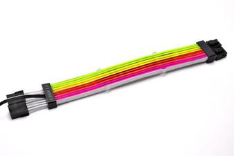 Lian Li PW8-V2 Strimer Plus Addressable RGB 8-pin PSU Extension Cable