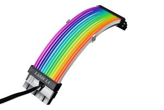 Lian Li PW24-V2 Strimer Plus Addressable RGB 24-pin PSU Extension Cable