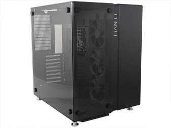 Lian Li PC-O9WX BLACK with GLASS PANEL ATX MICRO-ATX E-ATX MID TOWER CHASSIS