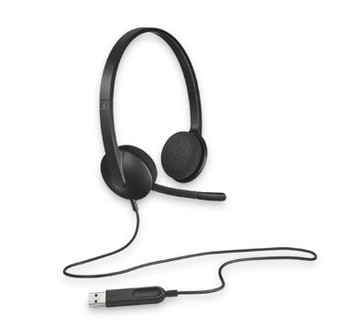 Logitech H340 Plug-and-Play USB headset with Noise Cancelling MIC