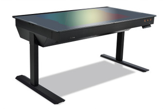Lian Li DK-05FX Aluminium Dual System Motorized Desk PC - Black