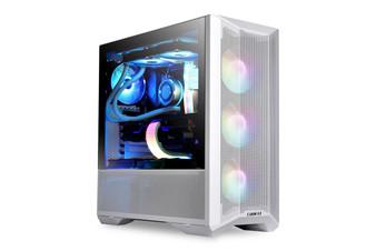 Lian Li LanCool 2 Mesh Tempered Glass RGB E-ATX Mid-Tower Case - White