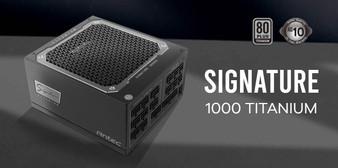 Antec Signature 1000w 80+Titanium Fully Modular, FDB 135mm Fan, Top