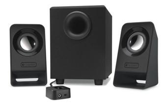 Logitech Z213 2.1 Speaker Syst 3.5mm Jack/7w RMS/Volume On/Off