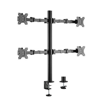 Brateck Quad Monitors Affordable Steel Articulating Monitor Arm 17-32'