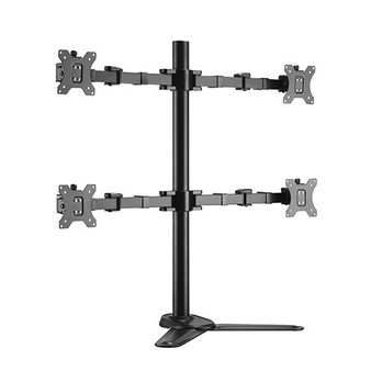 Brateck Quad Monitors Affordable Steel Articulating Monitor Stand17-32