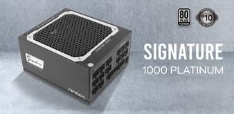 Antec Signature 1000w 80+Platinum Fully Modular, FDB 135mm Fan, Zero R