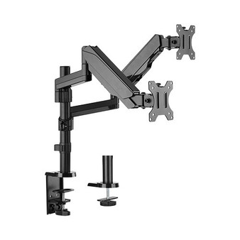 Brateck Dual Minitor  Full Extension Gas Spring Dual Monitor Arm (inde