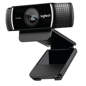 Logitech C922 Pro Stream Full HD Webcam 30fps at 1080p Autofocus Light