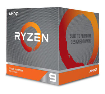 AMD Ryzen 9 3900X, 12 Core AM4 CPU, 3.8GHz 4MB 105W w/Wraith Prism