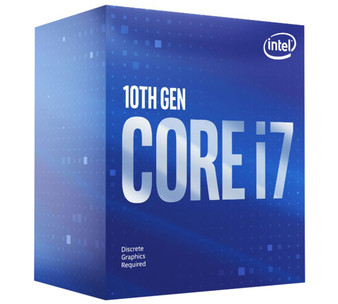 New Intel Core i7-10700F CPU 2.9GHz (4.8GHz Turbo) LGA1200 10th Gen 8-