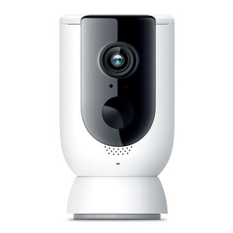 TP-Link Kasa Smart Wire-Free Camera add-on KC300, Hub not included,1080p Full HD, Weatherproof, Flexible Placement, 2 Way Audio, Rechargable Battery