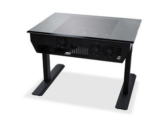 Lian-Li DK-04FX Aluminium Desk Case - Black