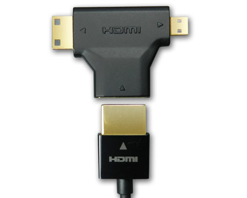 Adapter HDMI 3-in-1 Connection Kit, A to A/ C(mini)/ D(micro)