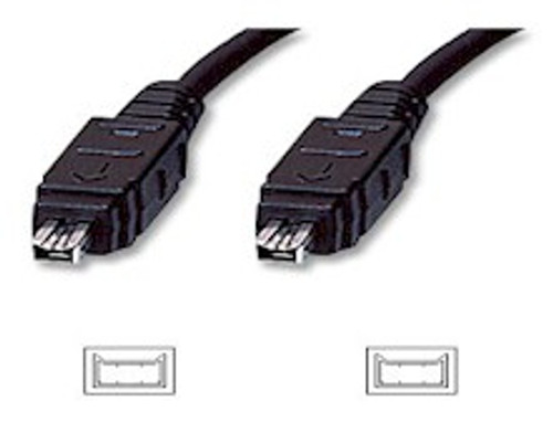 4.5M Firewire 1394A 4Pin/4Pin Cable