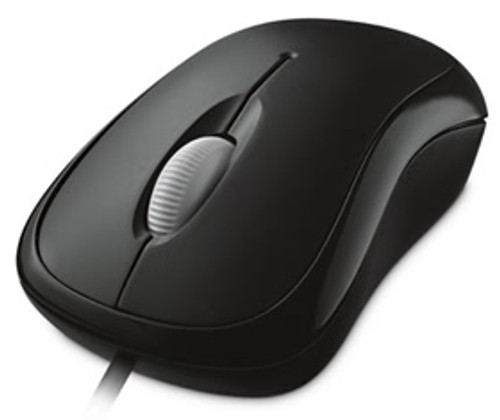 Microsoft Basic Optical Mouse Usb Windows / Mac Black (Retail)