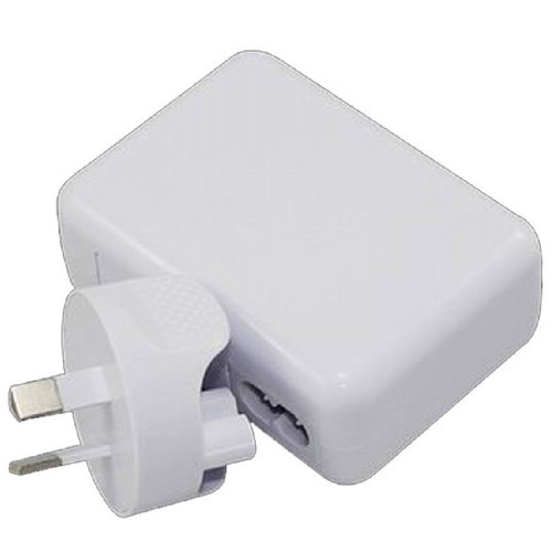 USB Travel Wall Charger Power Adapter AU Plug 2A 220V 2 Ports White Colour