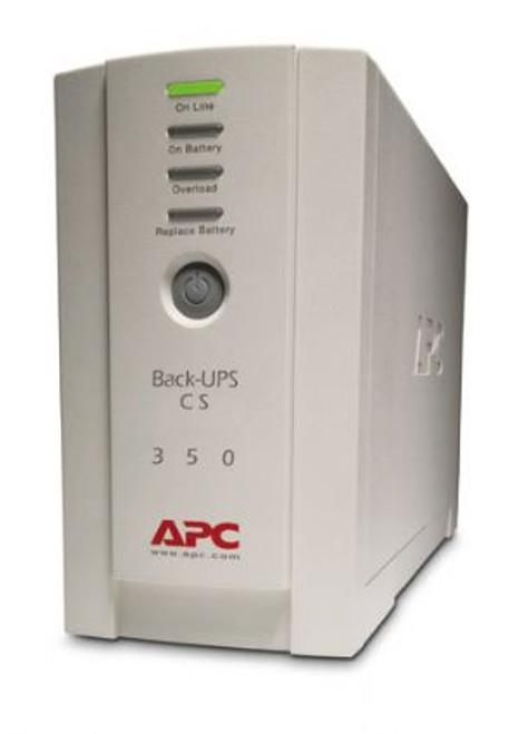 APC Back-UPS BK350EI CS 350VA Tower 210W