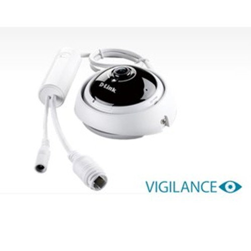 Dlink Vigilance Full HD 360 degree Fisheye Day & Night PoE Network Cam (DCS-4622)