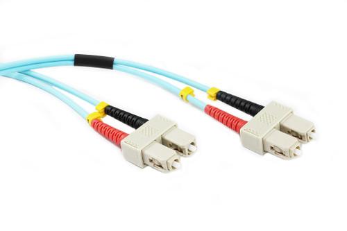 2M SC-SC OM4 50/125 Multimode Duplex Fibre Patch Cable