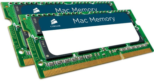 Corsair 16GB (2x8GB) DDR3L 1600 SODIMM 1.35V Memory for MAC