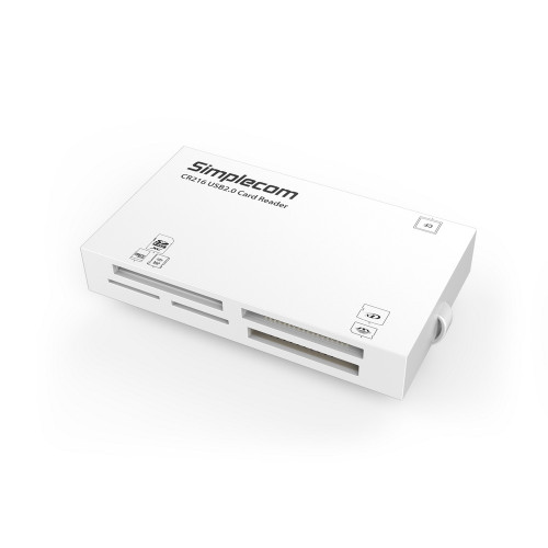Simplecom CR216 USB 2.0 All in One Memory Card Reader 6 Slot for MS M2