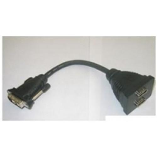 DVI ( 18+ 1 ) PIN M, 2xHDMI 19 P F