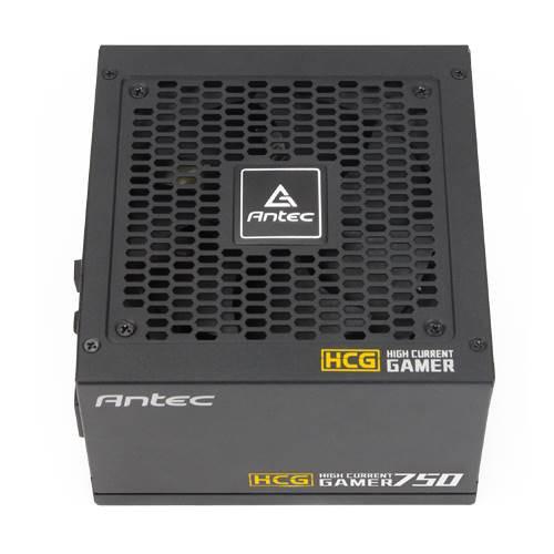 Antec HCG-750G 750w 80+ Gold Fully Modular PSU, 120mm FDB Fan, 100% Ja