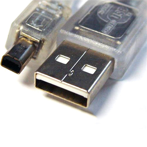 8Ware USB 2.0 Certified Cable A-B 4 Pin Mini 3m