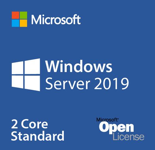 Microsoft Windows Server Standard CORE 2019, OLP 2 Licenses No Level C