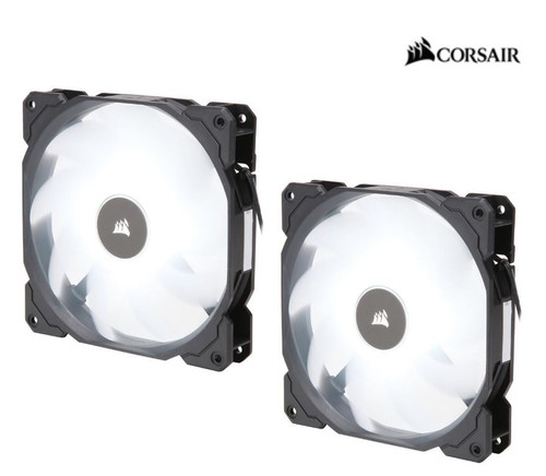 Corsair Air Flow 140mm Fan Low Noise Edition / White LED 3 PIN - Hydra