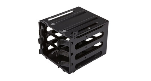 Corsair HDD upgrade kit with 3x hard drive trays and secondary hard dr